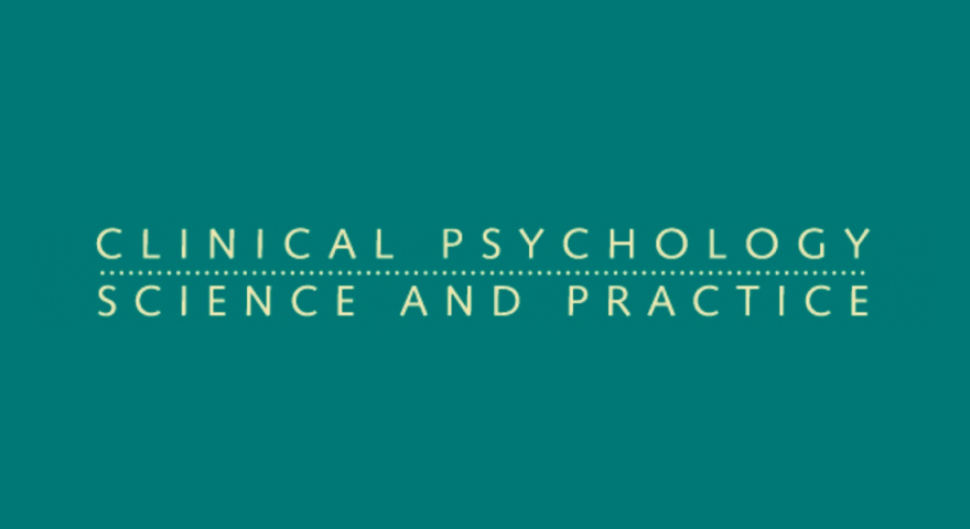 Clinical psychology science practice